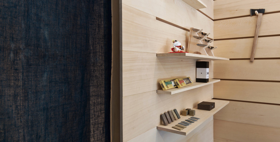 Ai & Om Japanese Knife Shop | Scott and Scott Architects Vancouver