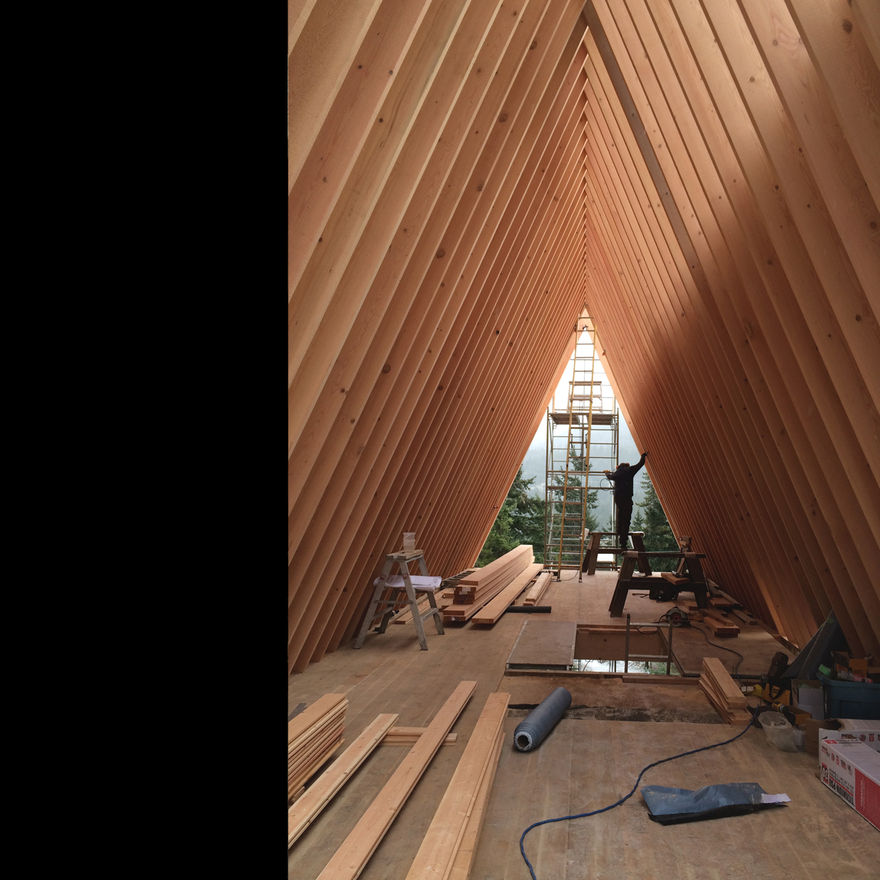 Scott and Scott Architects (Whistler A Frame Cabin) Scott and Scott Architects Vancouver Canada