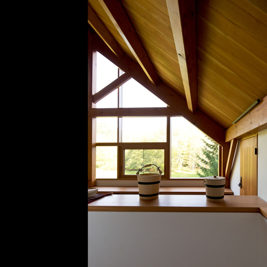 Scott and Scott Architects (Gulf Islands Barn) Scott and Scott Architects Vancouver Canada