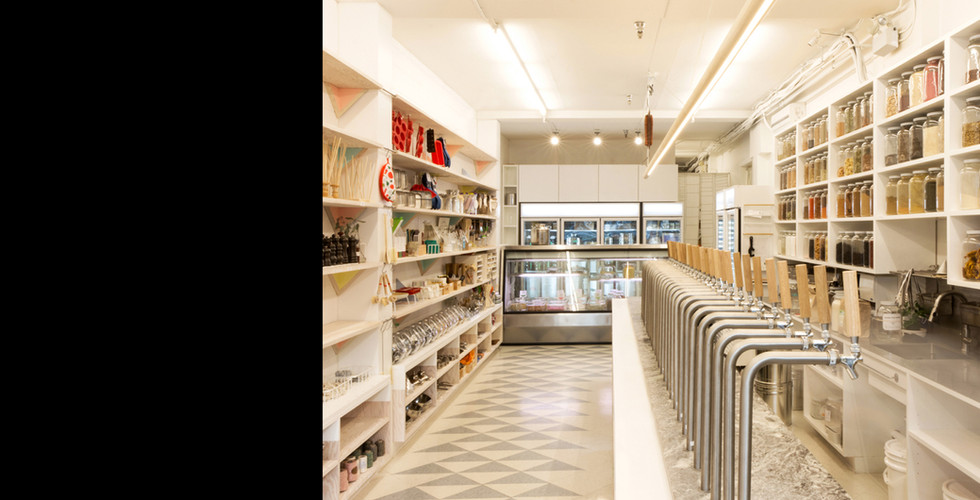 Kitchen Staples Zero Waste Grocery Store | Scott and Scott Architects Vancouver