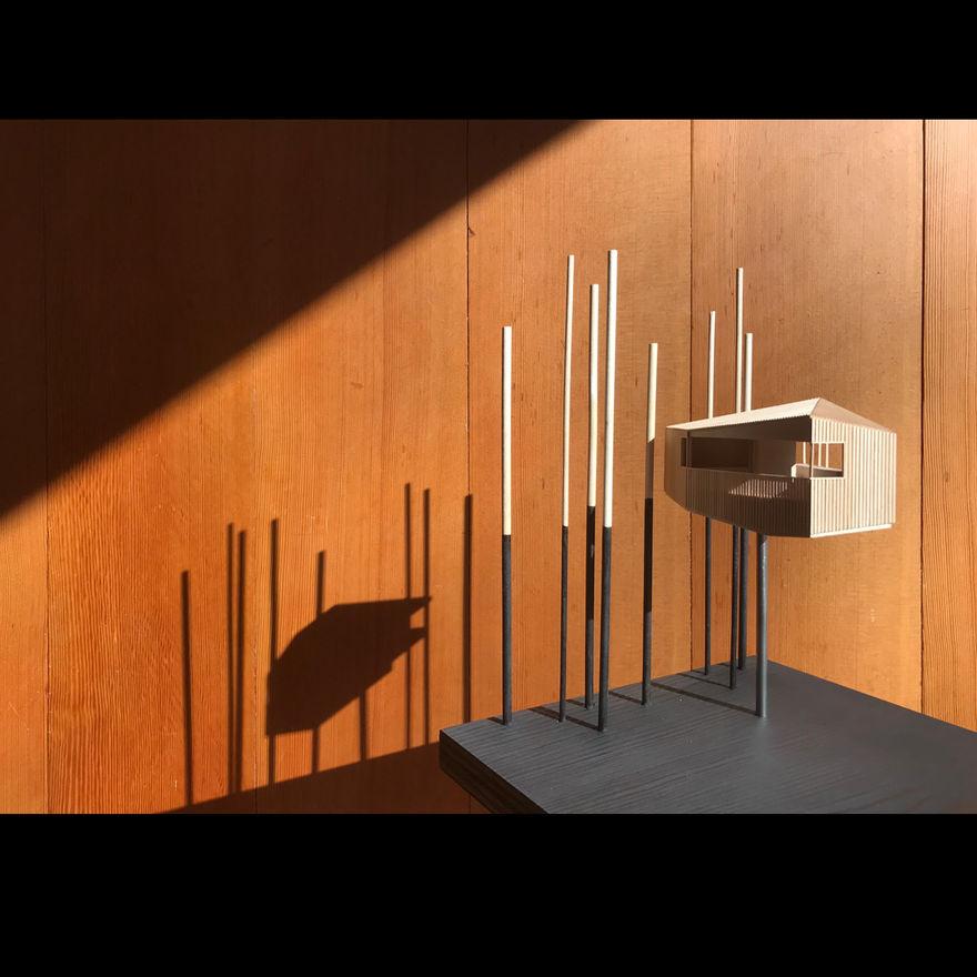 Scott and Scott Studio (model) Scott and Scott Architects Vancouver Canada