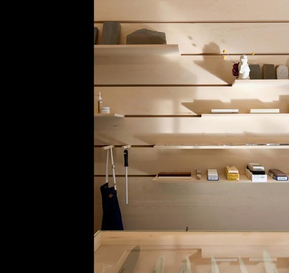 Ai & Om Japanese Knife Shop | Scott and Scott Architects Vancouver