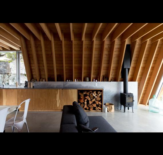 Whistler Mountain A Frame Ski Cabin | Scott and Scott Architects Vancouver
