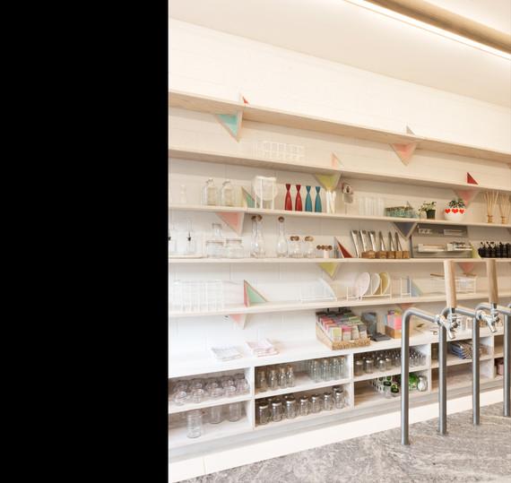 Kitchen Staples Zero Waste Grocery Store | Scott and Scott Architects Vancouver