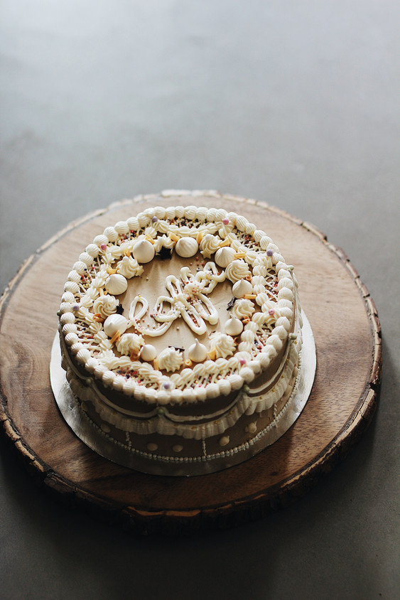 Coffee Buttercream Cake
