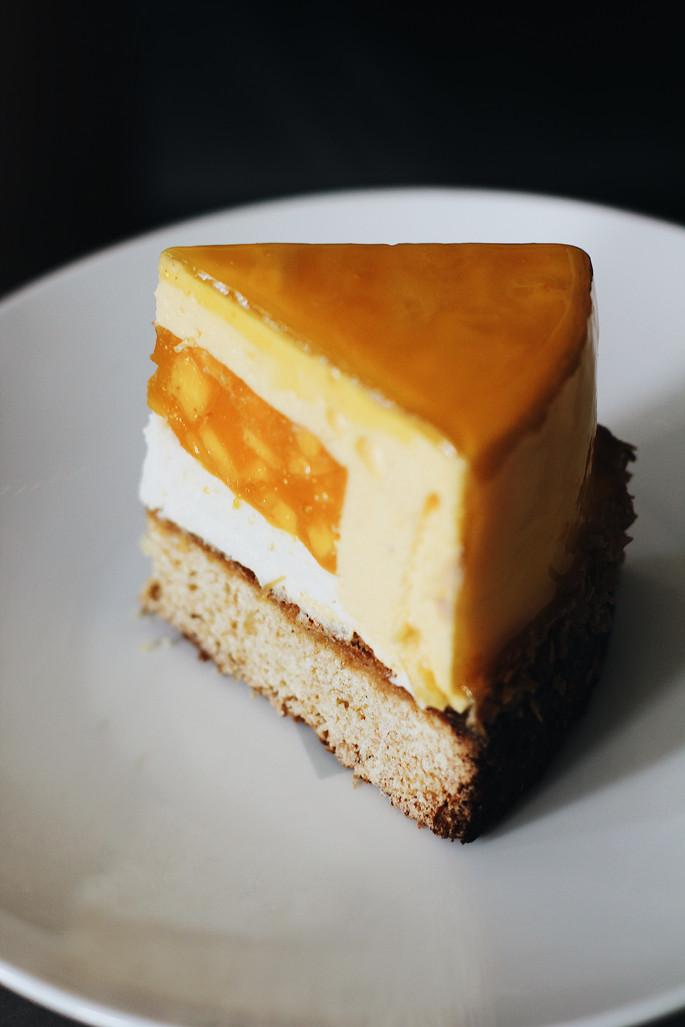 Mango Coconut Breton Tart