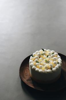 Mango Kiwi Coconut Cream Cake