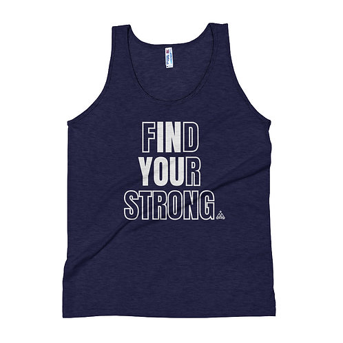 Find Your Strong Unisex Tank Top