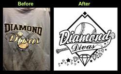 Diamond Divas Softball Shirt