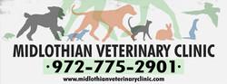 Midlothian Veterinary Fence Banner