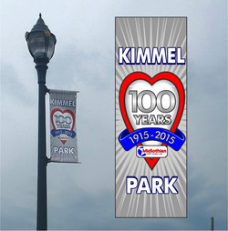 Kimmel Park Anniversary Banner