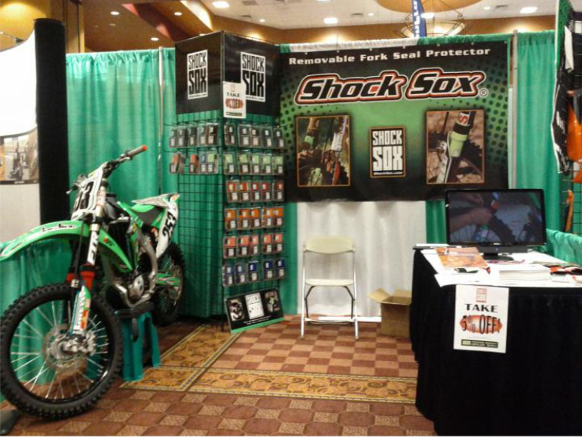 Shock Sox Show Booth