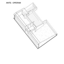Axonometry ante operam