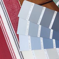 Light blue palette