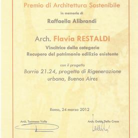 Barrio 21.24 won 2012 Alibrandi Award