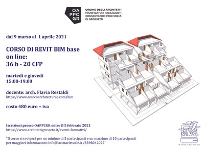 Corso on Line REVIT base  OAPPCGR