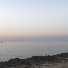 Sunset's Light blue