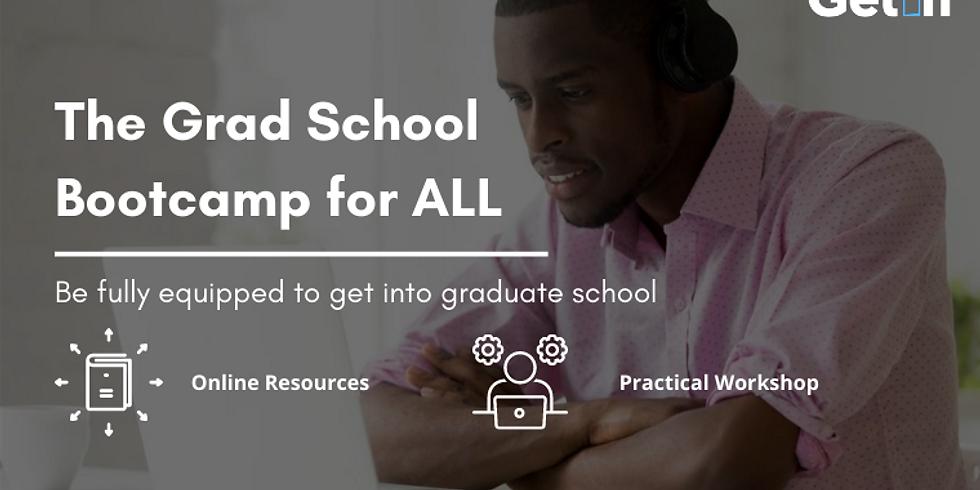 Graduate School Application Bootcamp -  2nd Batch   (1)