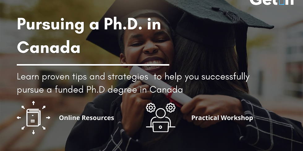 Pursuing a Ph.D in Canada