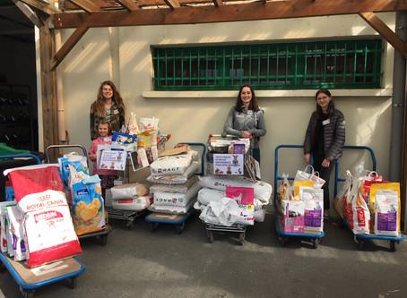 Magnifique collecte alimentaire à la RAGT de Castres le 4 mai 2019