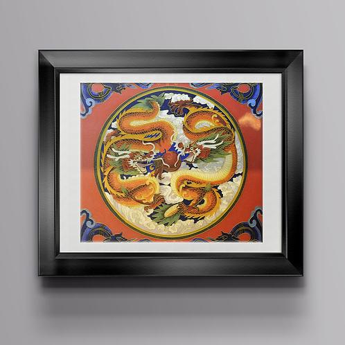 """Картина """"Мои друзья драконы"""""""