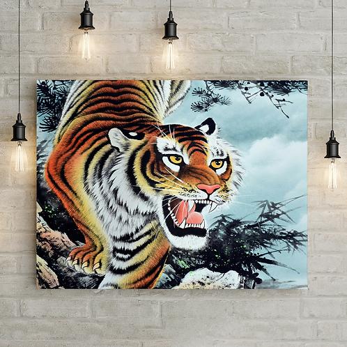 """Картина """"Крадущийся тигр"""""""
