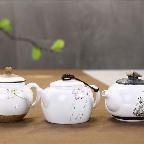 Фарфоровый чайник Цзин дэ чжен