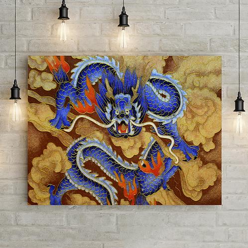 "Картина ""Свирепый дракон"""