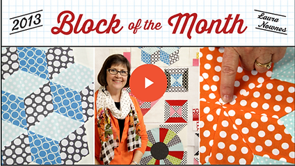 Laura Nownes on Craftsy BOM2013