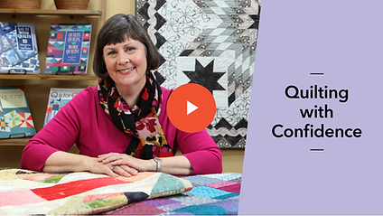 Laura Nownes on Craftsy Quilting with Confidence