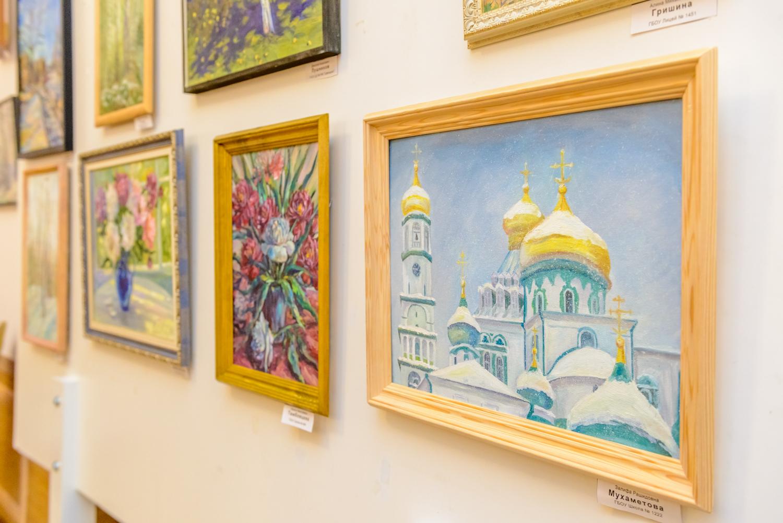 Выставка этюдов