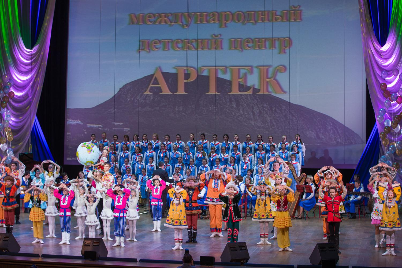 Детский концерт во Дворце пионеров
