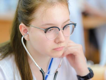 Медицинский класс в московской школе