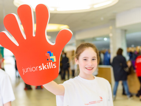Награждение победителей конкурса JuniorSkills