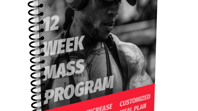 12 WEEKS OF MASS +Meal Plan