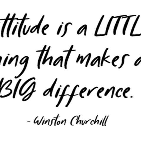 Its All About the Attitude