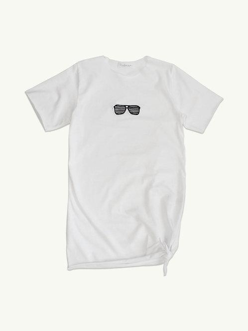 Glasses Over T-Shirt