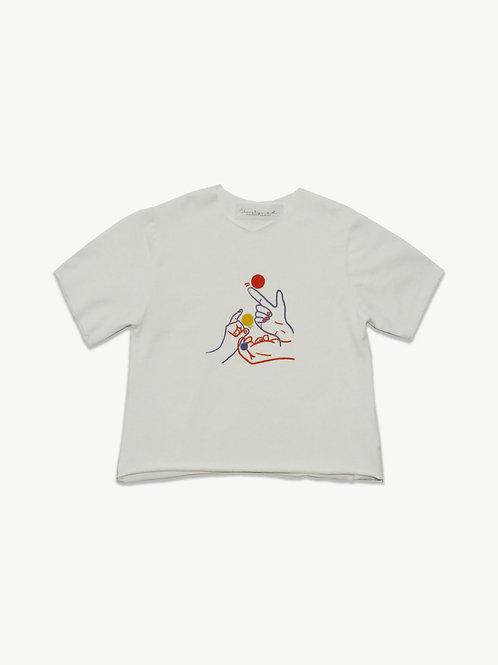 "T-shirt  Unisex in cotone -""Golf"""