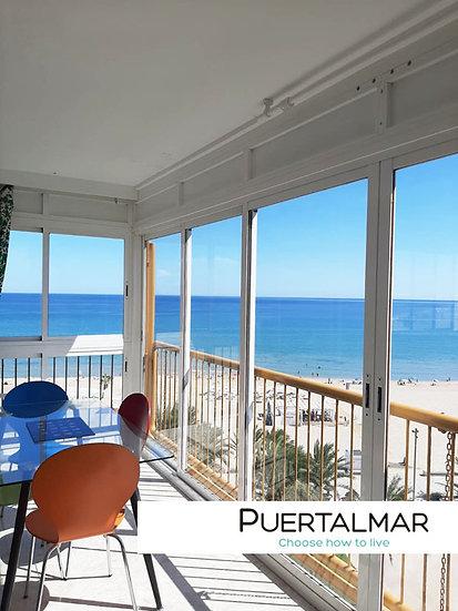 Piso en Av. Niza - Playa de San Juan - Alicante:  3 Hab, 2 baños, Garaje