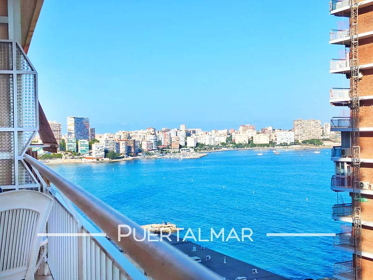 (RESERVADO) Piso en Av. Villajoyosa - Playa Albufereta - Alicante: 1 Hab, 1 baño