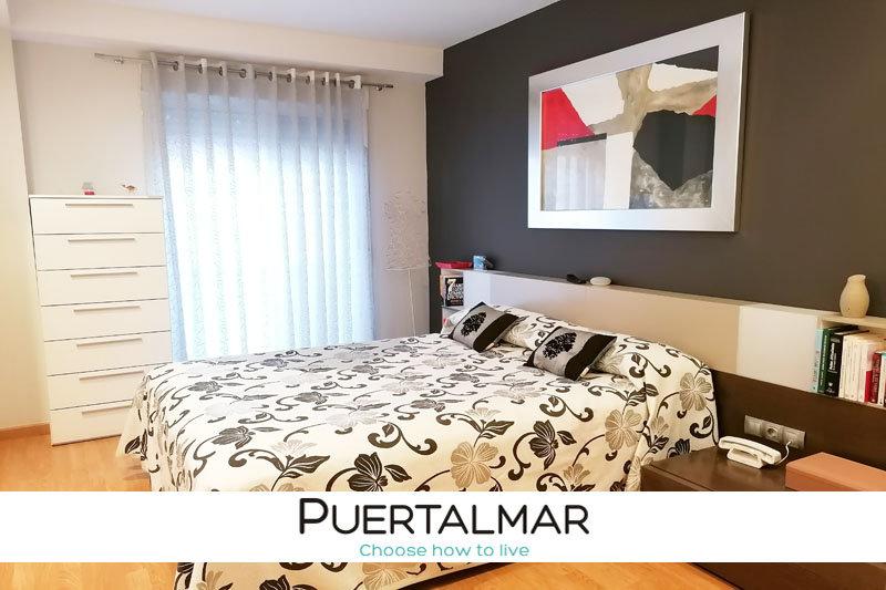 Piso calle Adsubia - San Gabriel - Alicante.  3 Hab, 2 baños, Garaje y Trastero