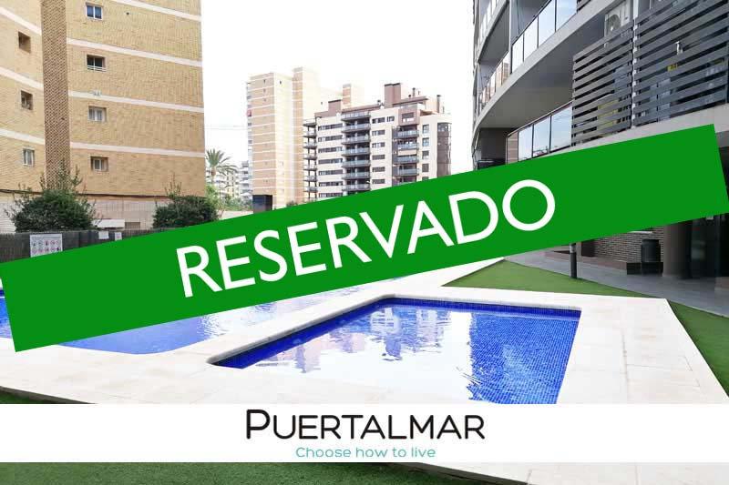 Piso en calle Torero Pacorro - PAU 5 - Alicante:  1 Hab, 1 baño, Piscina -Garaje