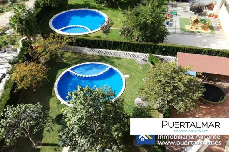 Piso en calle José Pomares - Babel - Alicante:  2 Hab, 1 baño, Garaje