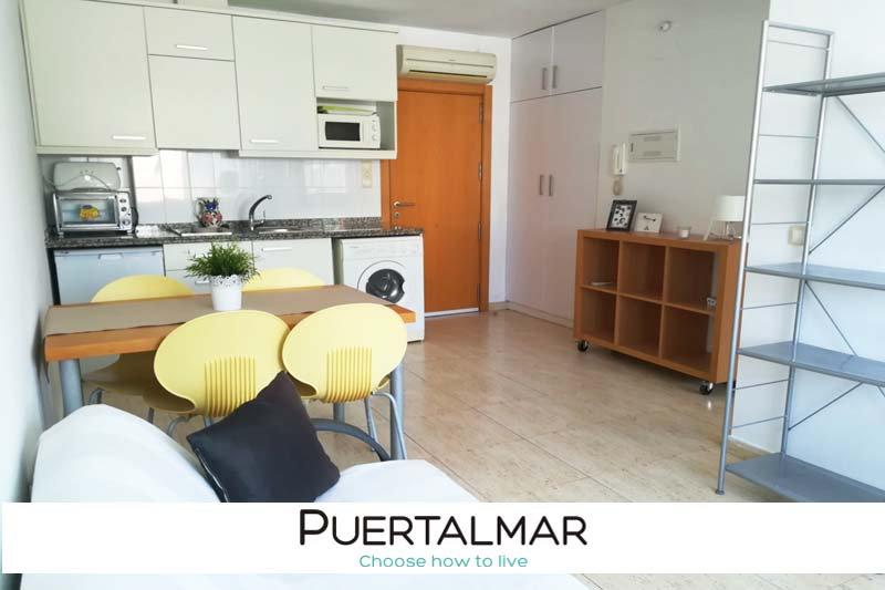 Piso en calle Arq. Guardiola - BENALUA - Alicante:  1 Hab, 1 baño
