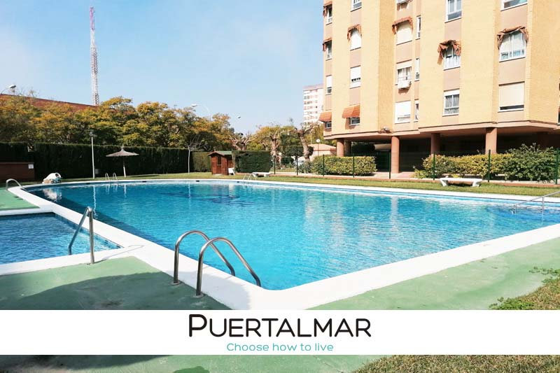 Piso en Babel - Alicante.  3 Hab, 2 baños, Garaje, Piscina y Urbanización