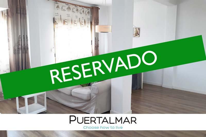 Piso en Alicante Norte - Hospital:  2 Hab, 1 baño, plaza Parking