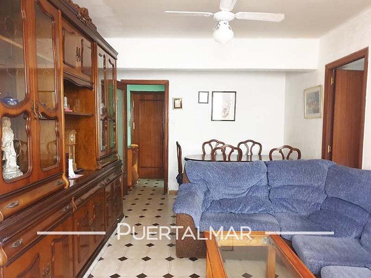 Piso en calle Monsonis Domingo - Alicante:  3 Hab, 1 baño, Terraza