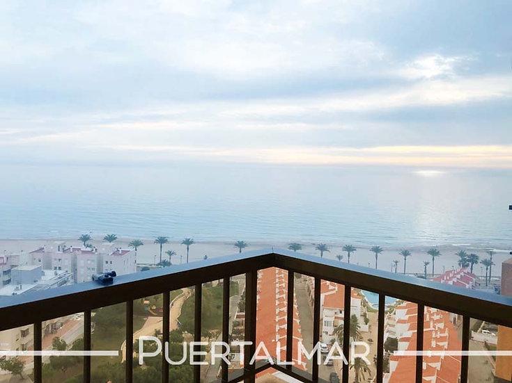 Piso en Av. Jaime I - Playa Muchavista - El Campello:  3 Hab, 2 baños, Garaje