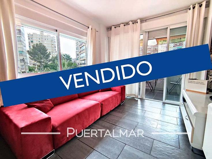 Piso en calle Doctor Vigrana - Playa Albufereta - Alicante.  2 Hab, 1 b