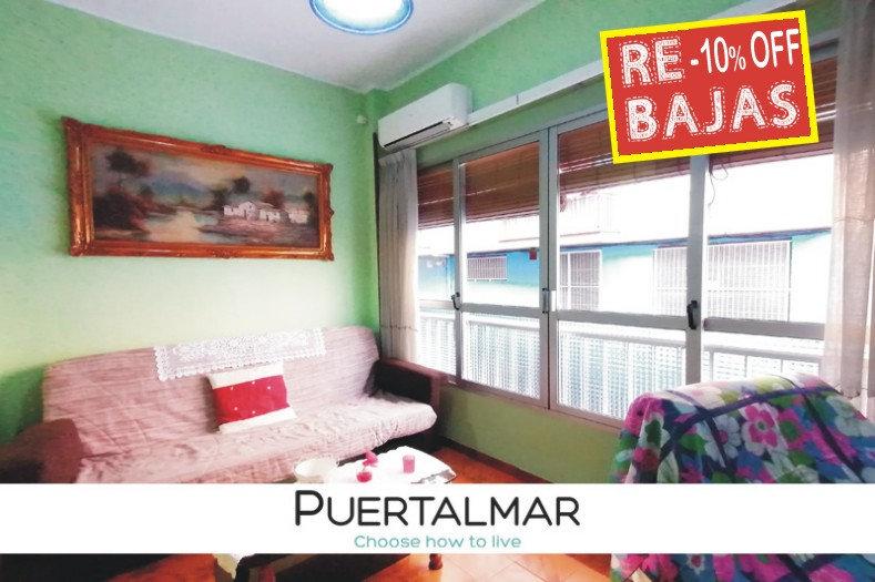 Piso en Playa Poniente - Benidorm:  3 Hab, 1 baño
